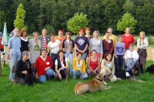 eerste groep opgeleide vrijwilligers 2004