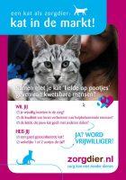 Stichting ZorgDier: Kat in de markt
