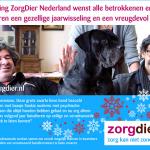 Stichting ZorgDier Nederland wenst alle betrokkenen en hun dierbaren een gezellige jaarwisseling en een vreugdevol 2018!